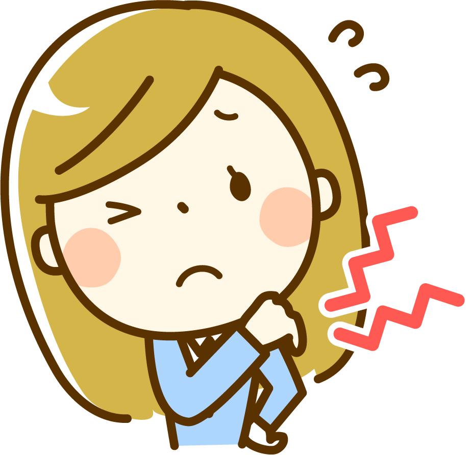仕事や家事で溜まった日々の疲労に悩む女性
