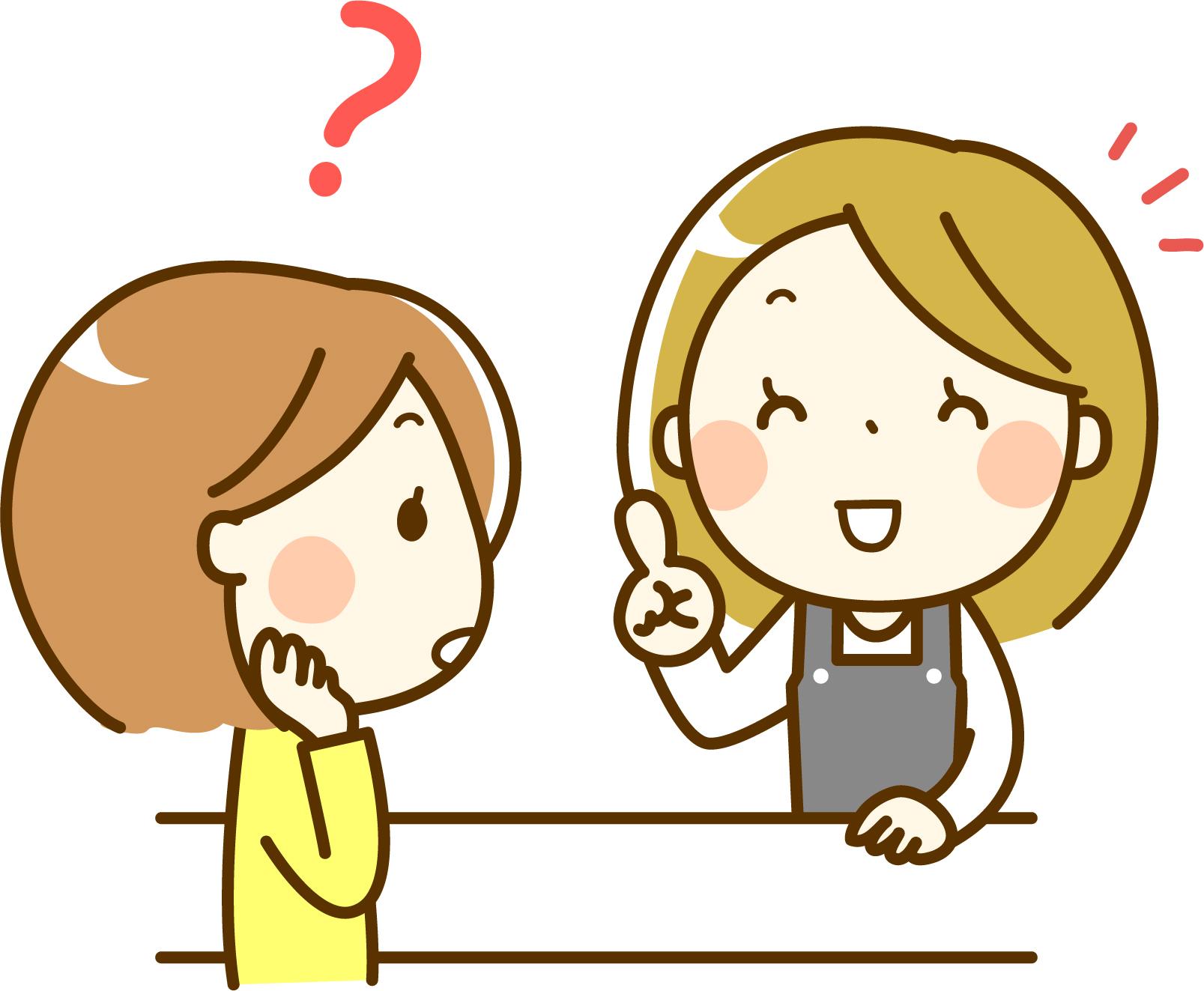 SOELUのカスタマーサポートに問い合わせる女性