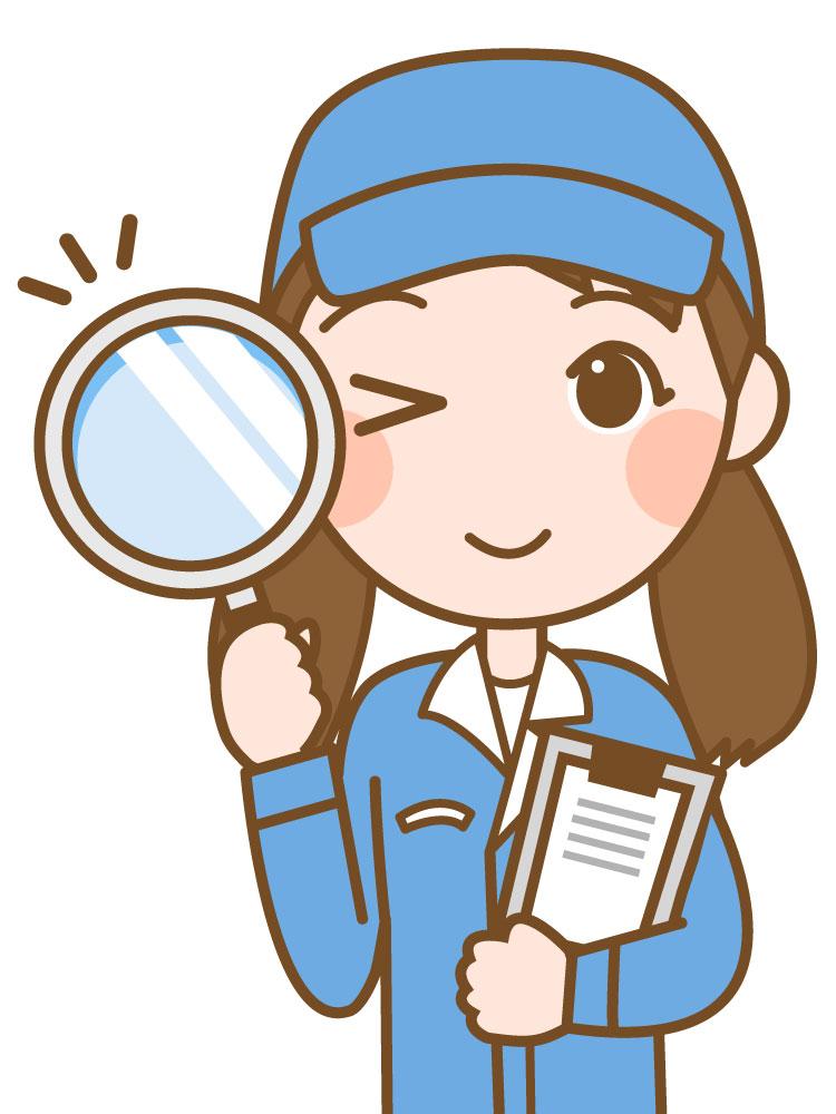 リーンボディのチャレンジ診断を調べる女性