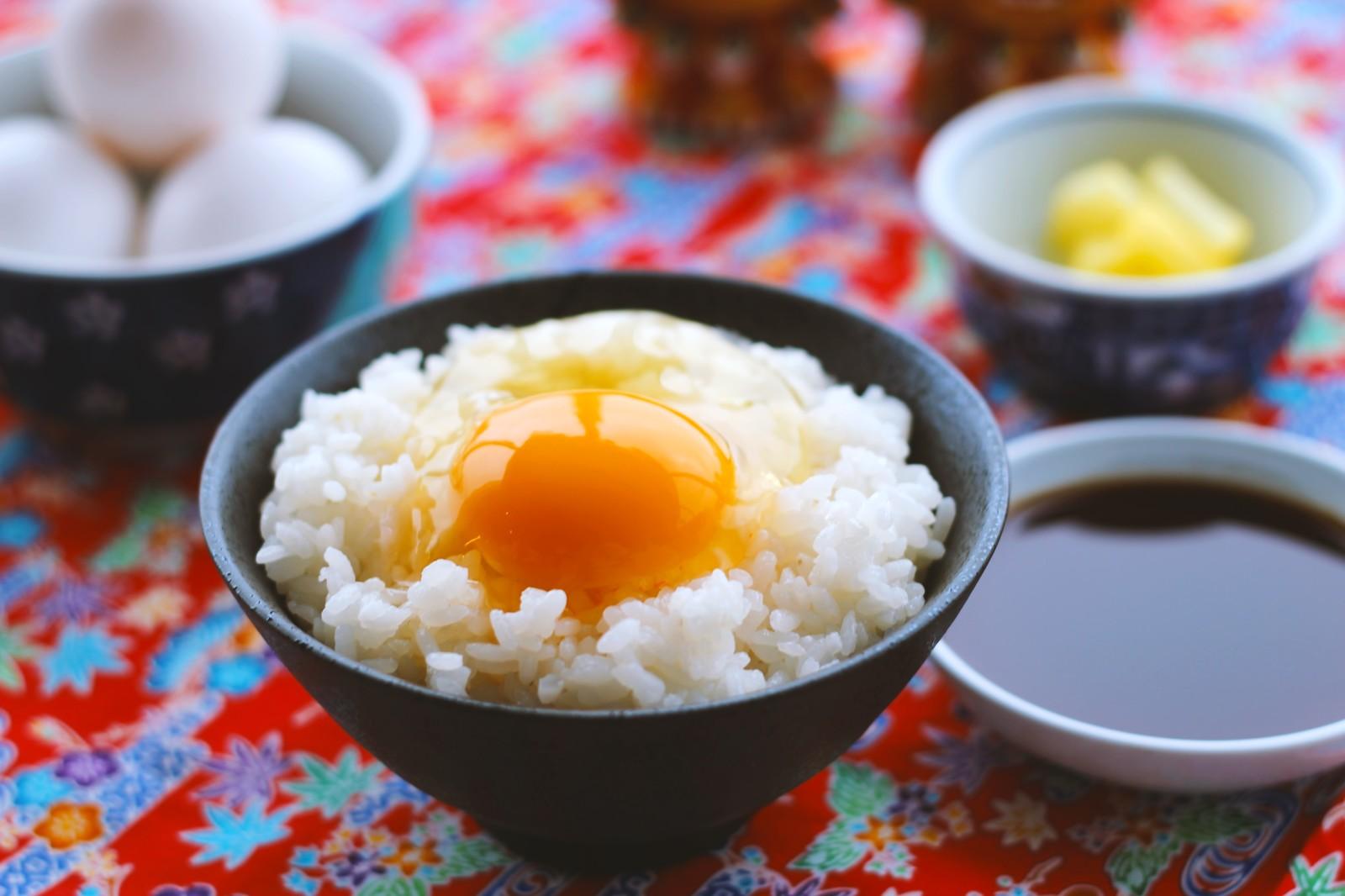卵かけご飯の画像